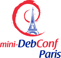 Official Mini-DebConf Paris Logo